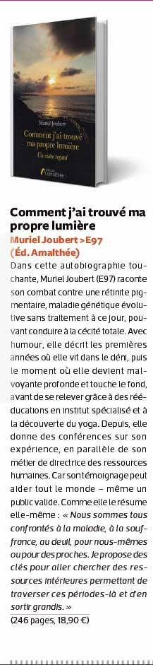 Article de presse de Muriel Joubert dans Reflets Magazine ESSEC