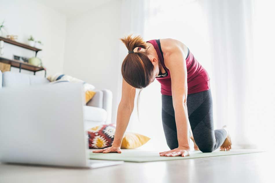 Cours-yoga-en-ligne-zoom-toulouse-postures-de-yoga-a-distance-en-interieur