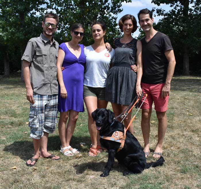 Article de presse de Muriel Joubert sur le site internet de l'association des chiens guides d'aveugle Grand Sud-Ouest