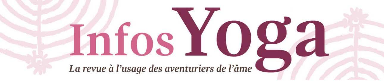 article de Presse de Muriel Joubert dans la revue infos Yoga